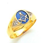 Blue Lodge Ring MAS72478BL
