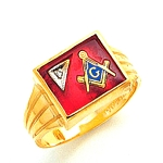 Blue Lodge Ring MAS72480BL