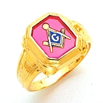 Blue Lodge Ring MAS849BL
