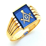 Blue Lodge Ring MAS60339BL