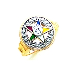 Order of the Eastern Star Ring GLC205ES