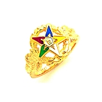 Order of the Eastern Star Ring GLC207ES