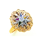 Order of the Eastern Star Ring MAS1768ES