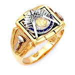 Gold Plated Past Master Ring MASCJ1890PM