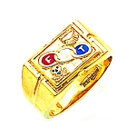Odd Fellows Ring GLC903OF