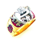 Shriner Ring GLC121SH