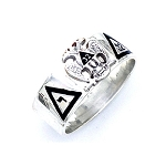 Sterling Silver Scottish Rite Ring MASCJ312SR