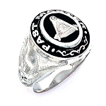 Sterling Silver Past Master Ring MASCJ548PM