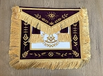 Past Master Grand Lodge Apron with Light Purple Velvet