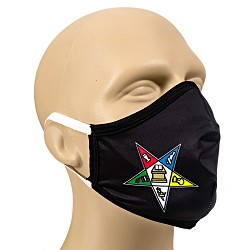 Order of the Eastern Star Masonic Face Mask