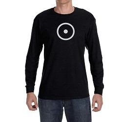 Point within a Circle Masonic Men's Crew Neck Long Sleeve T-Shirt - [LongSleeve]