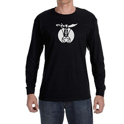 Shriner Masonic Men's Crew Neck Long Sleeve T-Shirt - [LongSleeve]