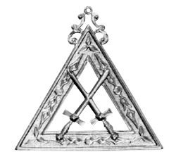 Tyler Royal Arch Masonic Officer Jewel - [Gold] - RAC-13