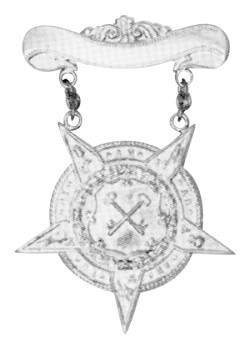 Order of Amaranth Charity Gold Finish Officer Jewel RAM-4
