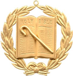 Grand Assistant Chaplain Grand Lodge Masonic Officer Jewel  - RBL-50