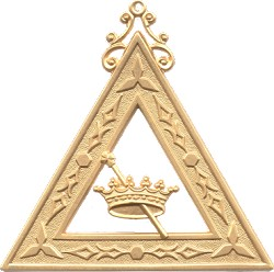 Esther Order of the Eastern Star Masonic Officer Jewel - [Gold][2 1/2''] - RES-16