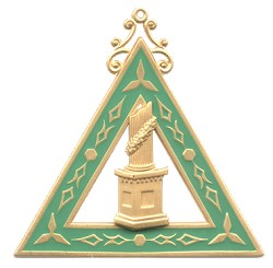 Martha Order of the Eastern Star Masonic Officer Jewel - [Gold][2 1/2''] - RES-18