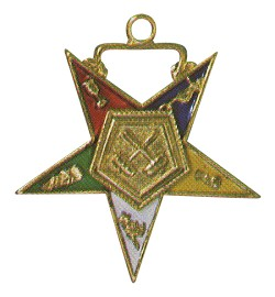 Past Matron Order of the Eastern Star Masonic Officer Jewel - [Gold][1 1/2''] - RES-43