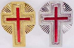 Shining Cross Knights Templar Hat Jewel  - RKT-23