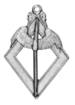 Hospitaller 16th Degree Scottish Rite Officer Jewel - [Gold] - RSR-30