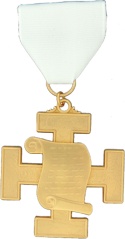 Orator 32nd Degree Scottish Rite Officer Jewel - [Gold] - RSR-46