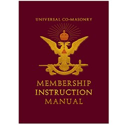Universal Co-Masonry Membership Instruction Manual