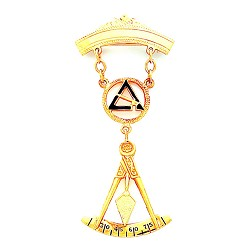 Cryptic Council Masonic Breast Jewel - HOMJ3755