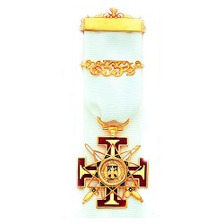 Scottish Rite Masonic Breast Jewel - MASJ113
