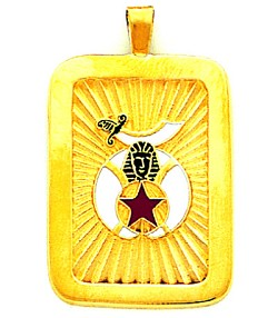 Shriner Masonic Pendant - GLC8381
