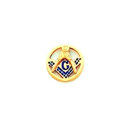 Blue Lodge Masonic Tie Tac - HOM3691T