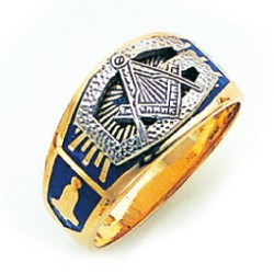 Blue Lodge Masonic Ring - GLC305BL