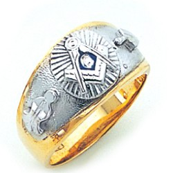 Blue Lodge Masonic Ring - GLC670BL