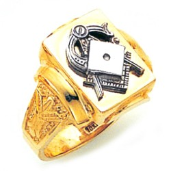 Blue Lodge Masonic Ring - GLC810BL