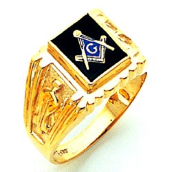 Blue Lodge Masonic Ring - GLCS1131BL