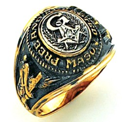 Blue Lodge Masonic Ring - GLCS1181PBL