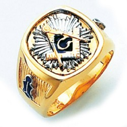 Blue Lodge Masonic Ring - HOM319BL