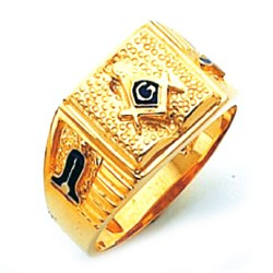 Blue Lodge Masonic Ring - HOM516BL