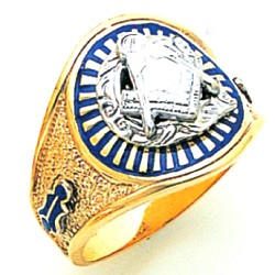Blue Lodge Masonic Ring - MAS1185BL
