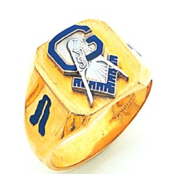 Blue Lodge Masonic Ring - MAS2044BL
