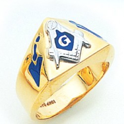 Blue Lodge Masonic Ring - MAS2148BL