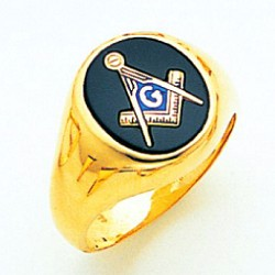 Blue Lodge Masonic Ring - MAS60944BL