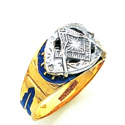 Blue Lodge Masonic Ring - MAS731BL