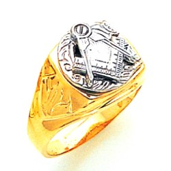 Blue Lodge Masonic Ring - MAS748BL
