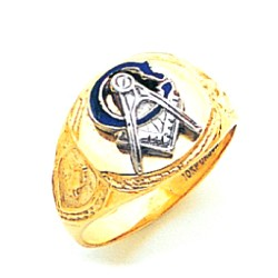 Blue Lodge Masonic Ring - MAS926BL