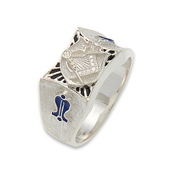 Blue Lodge Masonic Ring - MASCJ570BL