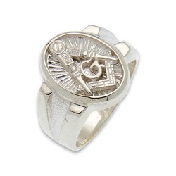 Blue Lodge Masonic Ring - MASCJ798BL