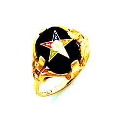 Order of the Eastern Star Masonic Ring - HOM464ES
