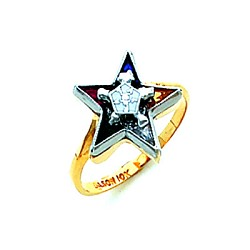Order of the Eastern Star Masonic Ring - HOM536ES