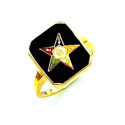 Order of the Eastern Star Masonic Ring - HOM574ES