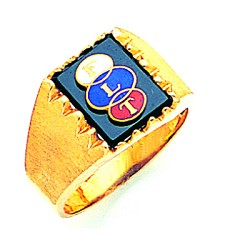 Odd Fellows Fraternal Ring - MAS60436OF